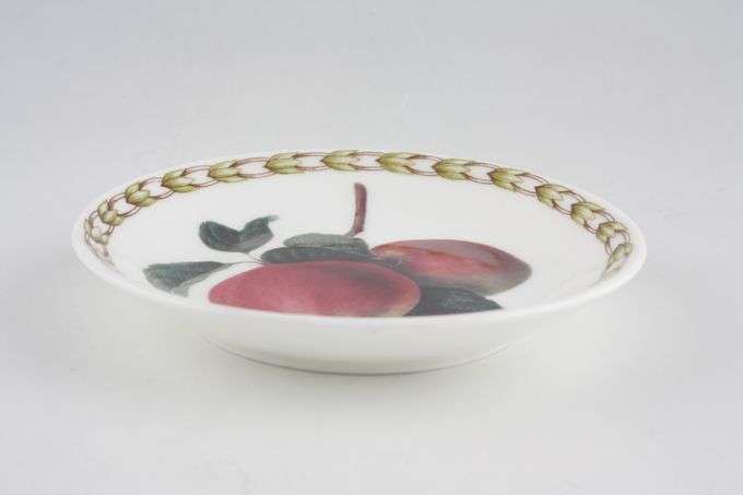 Queens Hookers Fruit Coaster Bone China - Apple 4""