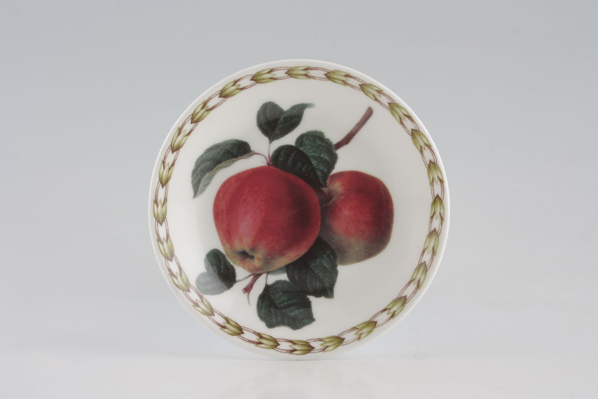 "Queens Hookers Fruit Coaster Bone China - Apple 4"" thumb 2"