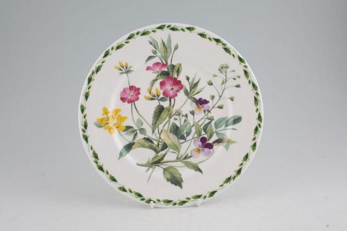 """Queens The Garden Breakfast / Lunch Plate Viola 8 3/4"""""""
