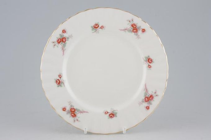 Richmond Rose Time Starter / Salad / Dessert Plate Roses more orange colour than pink 7 1/8""