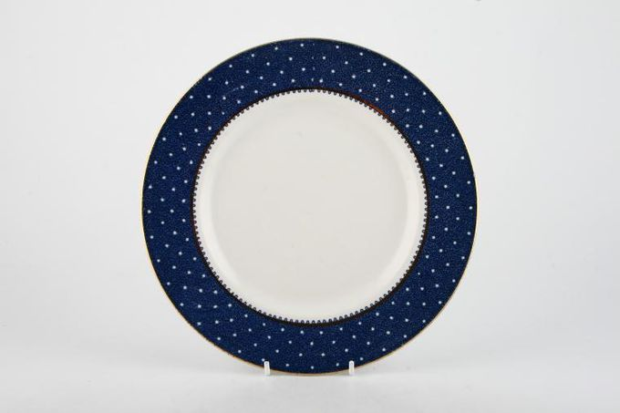 """Ridgway Conway - Blue Breakfast / Lunch Plate 8 3/4"""""""