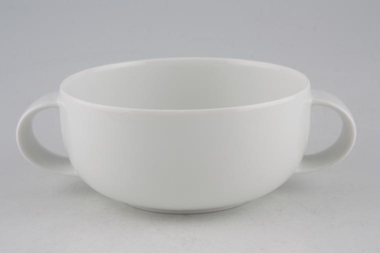 Rosenthal - Studio Line Range - Plain White - Soup Cup - 2 handles