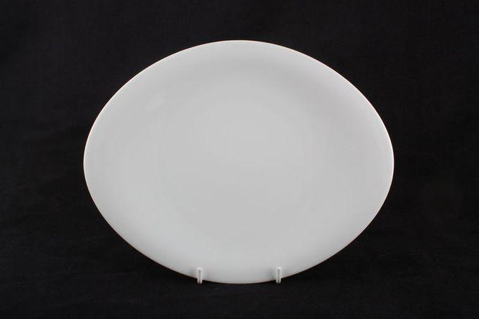 """Rosenthal A La Carte - Scoop Breakfast / Salad / Luncheon Plate Oval 10 3/8"""""""