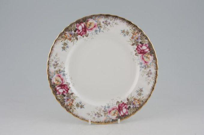 "Royal Albert Autumn Roses Starter / Salad / Dessert Plate 8"""