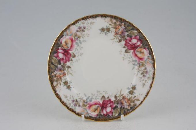 "Royal Albert Autumn Roses Tea / Side / Bread & Butter Plate 6 1/4"""