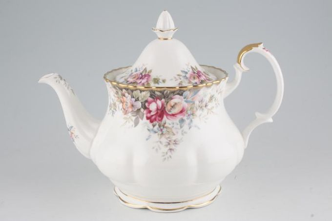 Royal Albert Autumn Roses Teapot 2pt