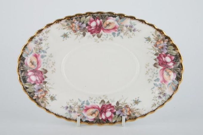 Royal Albert Autumn Roses Sauce Boat Stand