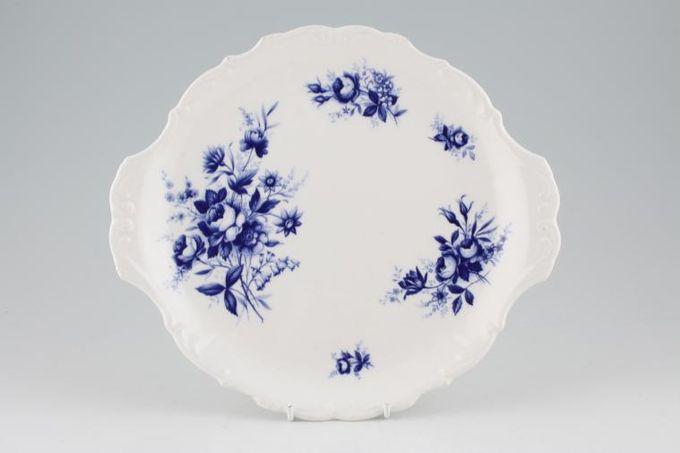 "Royal Albert Connoisseur Cake Plate Round, eared 10 3/8"""