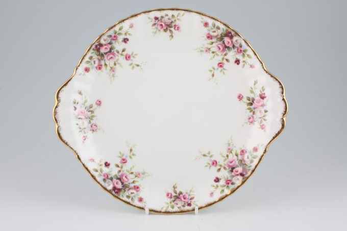 "Royal Albert Cottage Garden Cake Plate 10 1/2"""