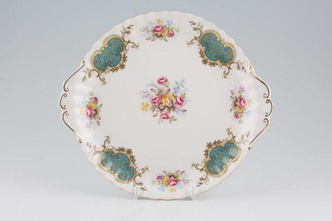 """Royal Albert Berkeley Cake Plate 10 3/8"""""""