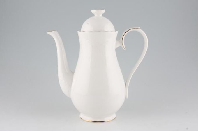 Royal Albert Daybreak Coffee Pot Large. 6 cup. 2 1/4pt