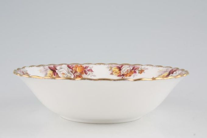 "Royal Albert Lenora Oatmeal / Cereal / Soup 6 1/2"""