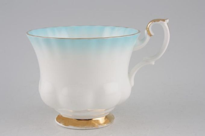 Royal Albert Rainbow - Montrose Shape Teacup Azure 3 1/2 x 2 3/4""
