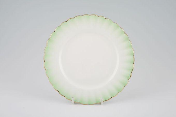 "Royal Albert Rainbow - Montrose Shape Tea / Side / Bread & Butter Plate Green 6 3/8"""