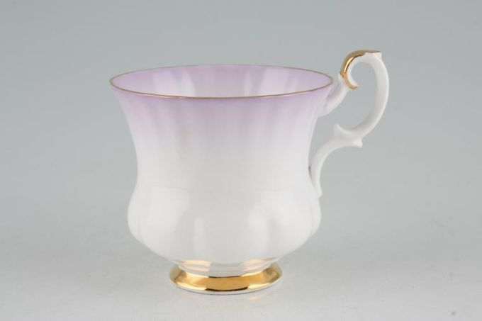 Royal Albert Rainbow - Montrose Shape Coffee Cup Mauve 2 3/4 x 2 1/2""