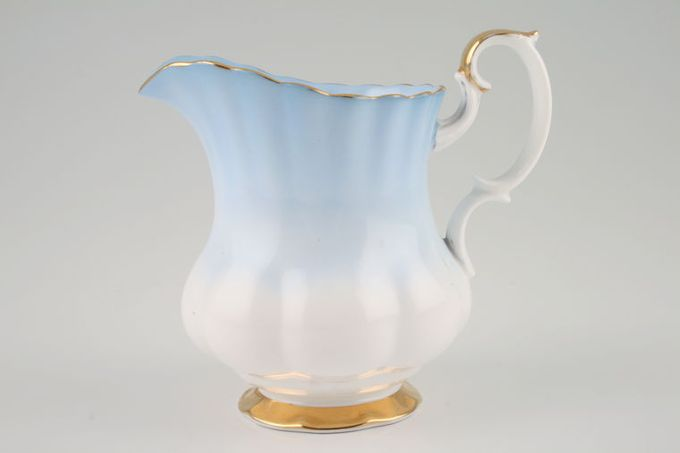 Royal Albert Rainbow - Montrose Shape Milk Jug Blue 1/2pt
