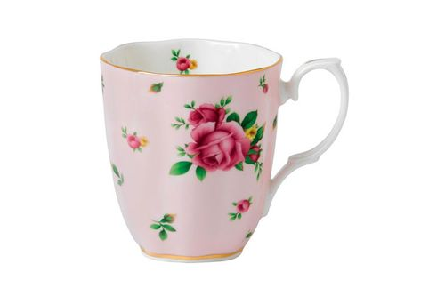 Royal Albert Cheeky Pink Mug Pink Roses