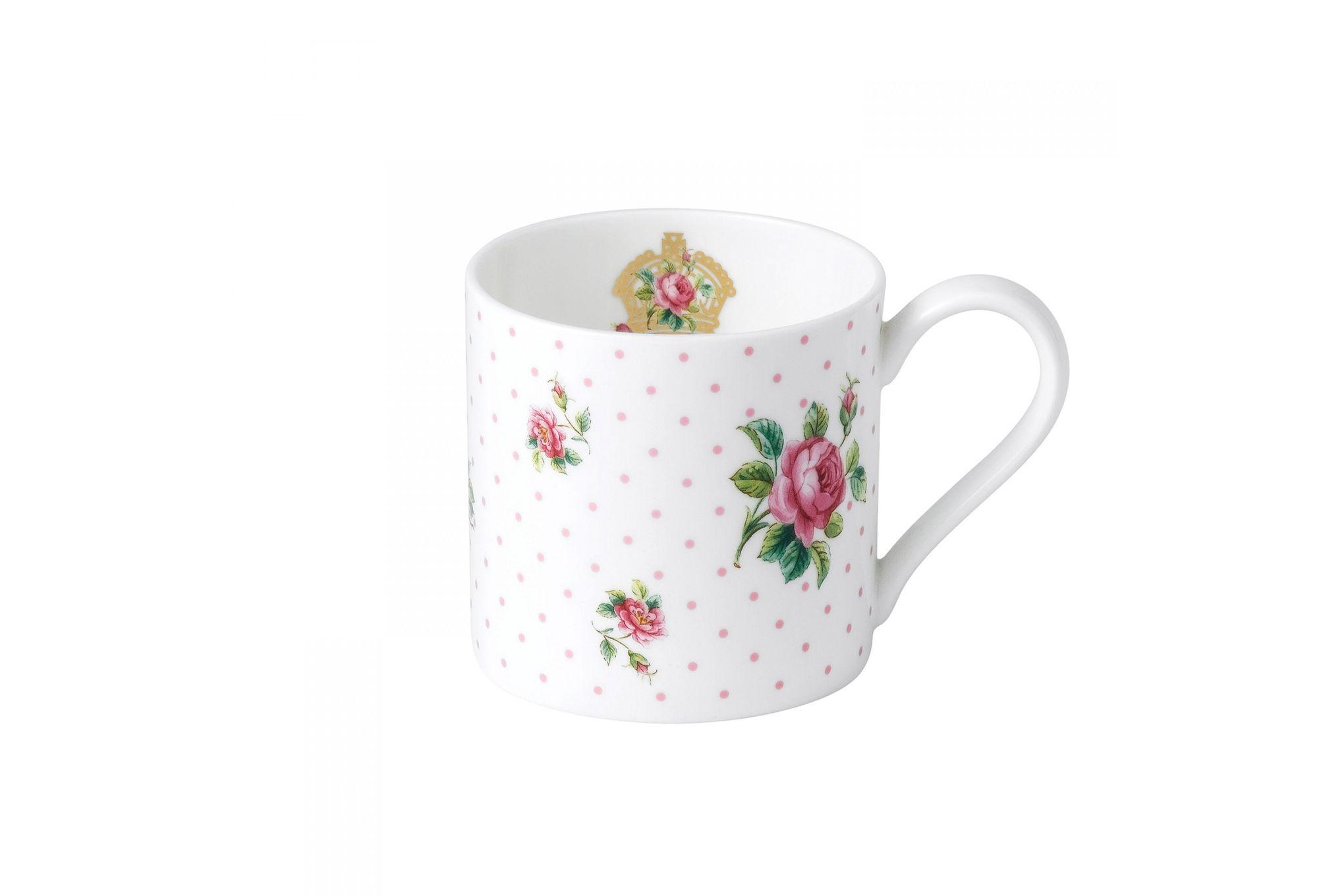 Royal Albert Cheeky Pink Mug Pink Roses - Modern Mug thumb 1