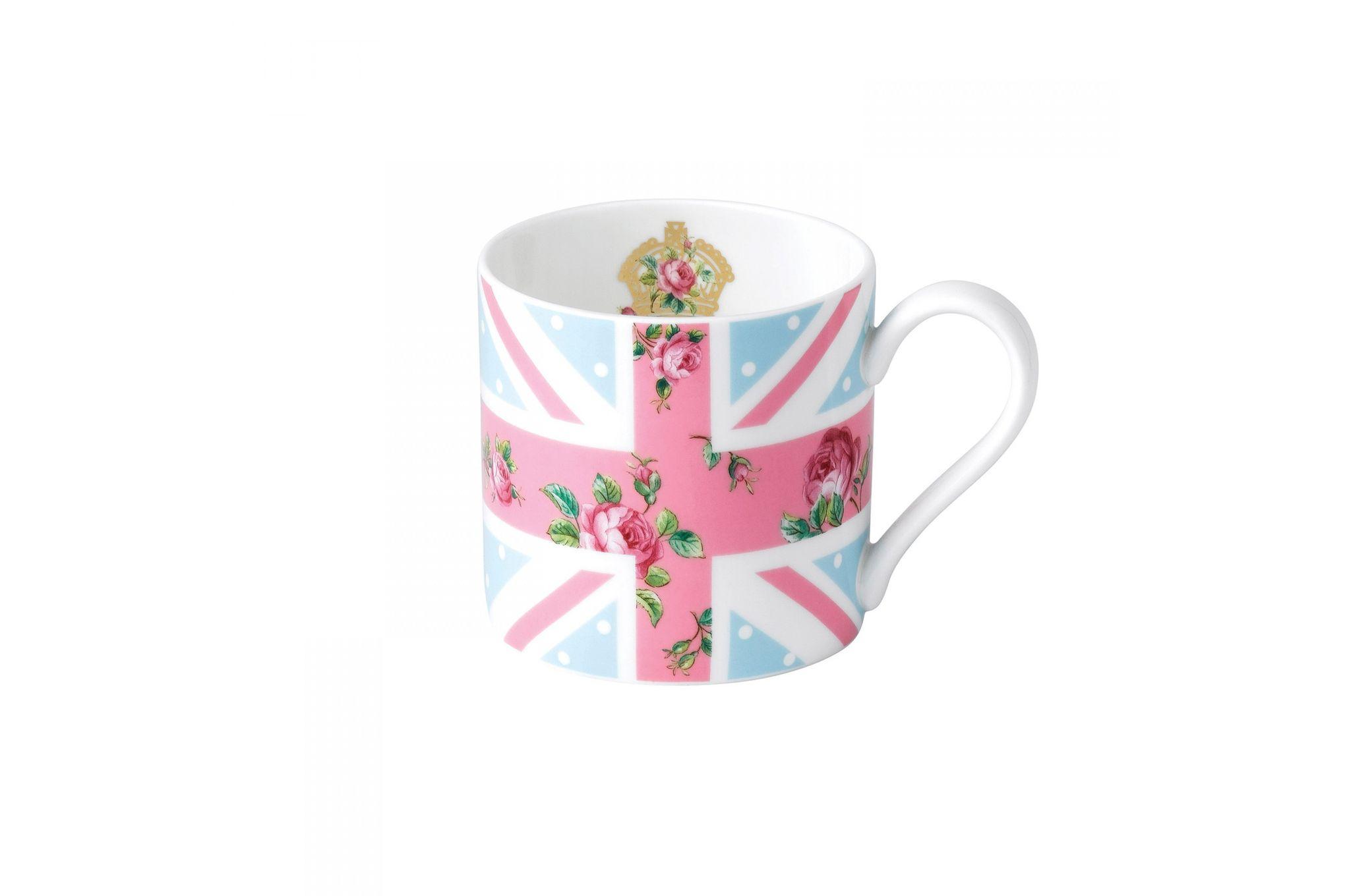 Royal Albert Cheeky Pink Mug Union Jack - Modern Mug thumb 1