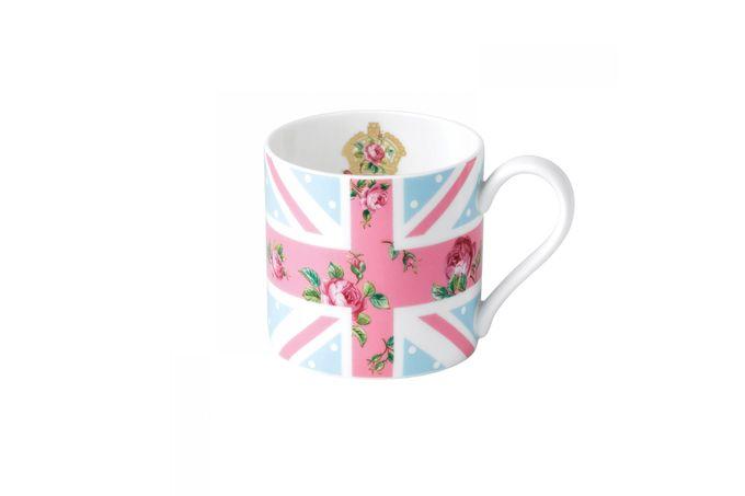 Royal Albert Cheeky Pink Mug Union Jack - Modern Mug