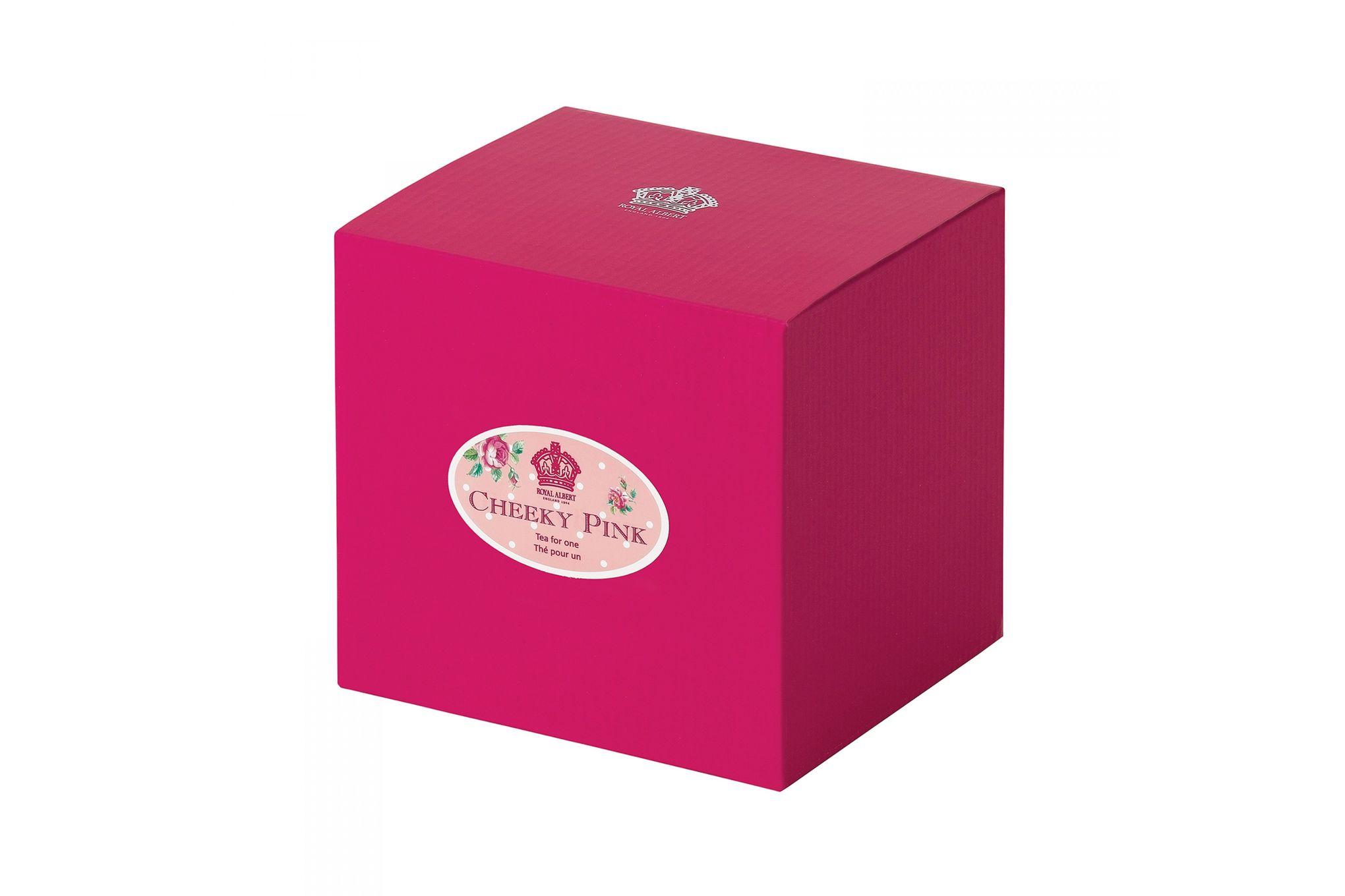 Royal Albert Cheeky Pink Tea For One Vintage Shape - Gift Boxed thumb 2