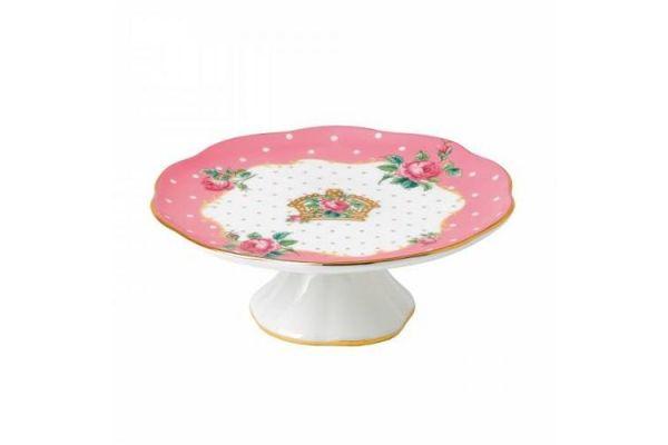 Royal Albert Cheeky Pink Cake Stand Small