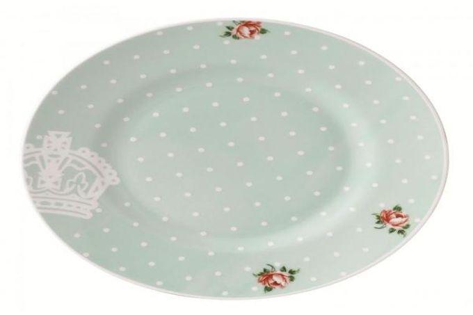 Royal Albert Polka Rose Starter / Salad / Dessert Plate Modern 21cm
