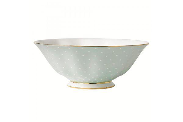 Royal Albert Polka Rose Salad Bowl Vintage