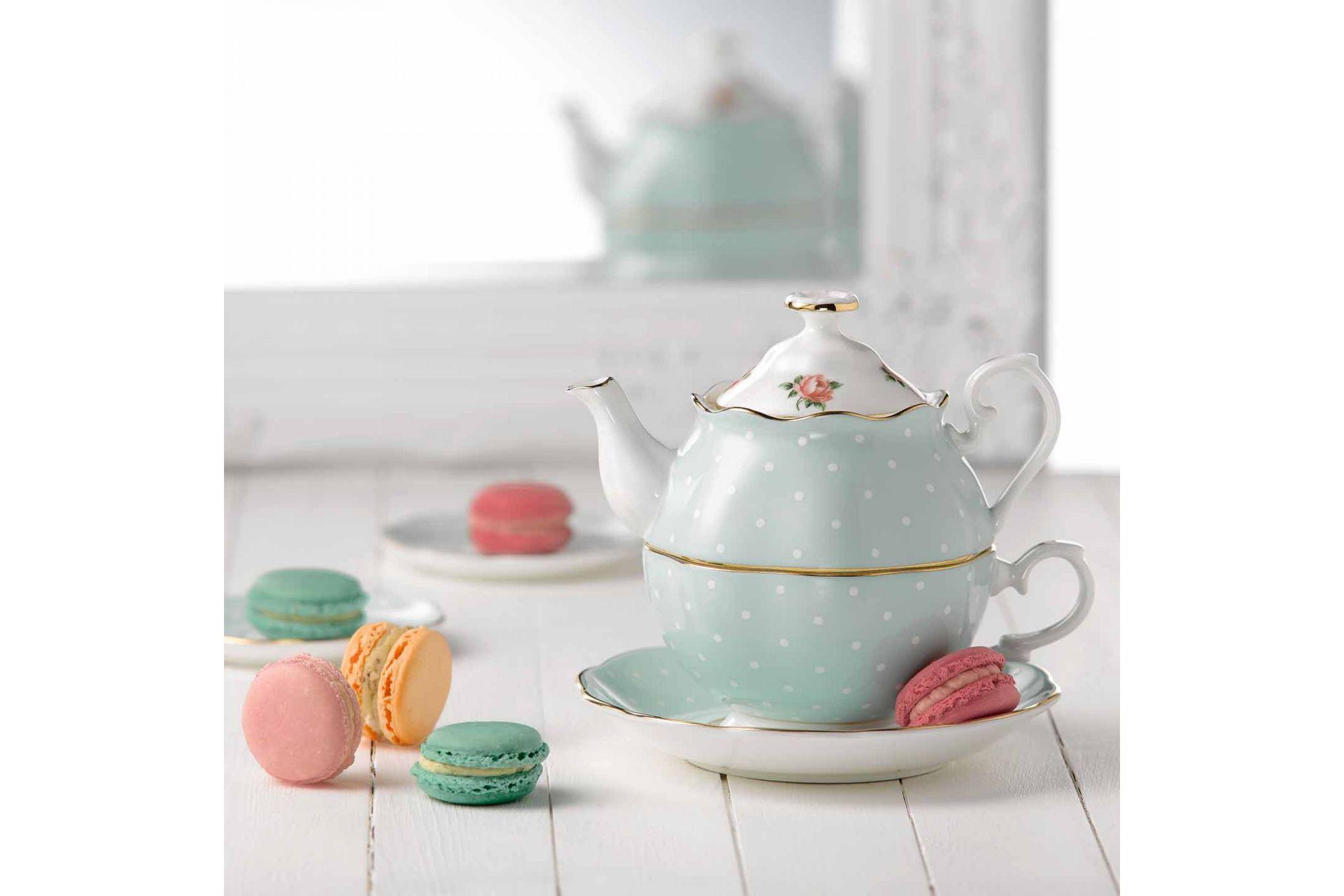 Royal Albert Polka Rose Tea For One thumb 2