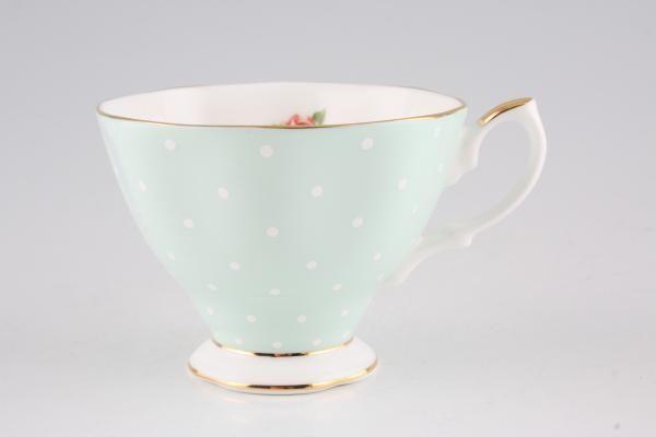 Royal Albert Polka Rose Teacup Vintage