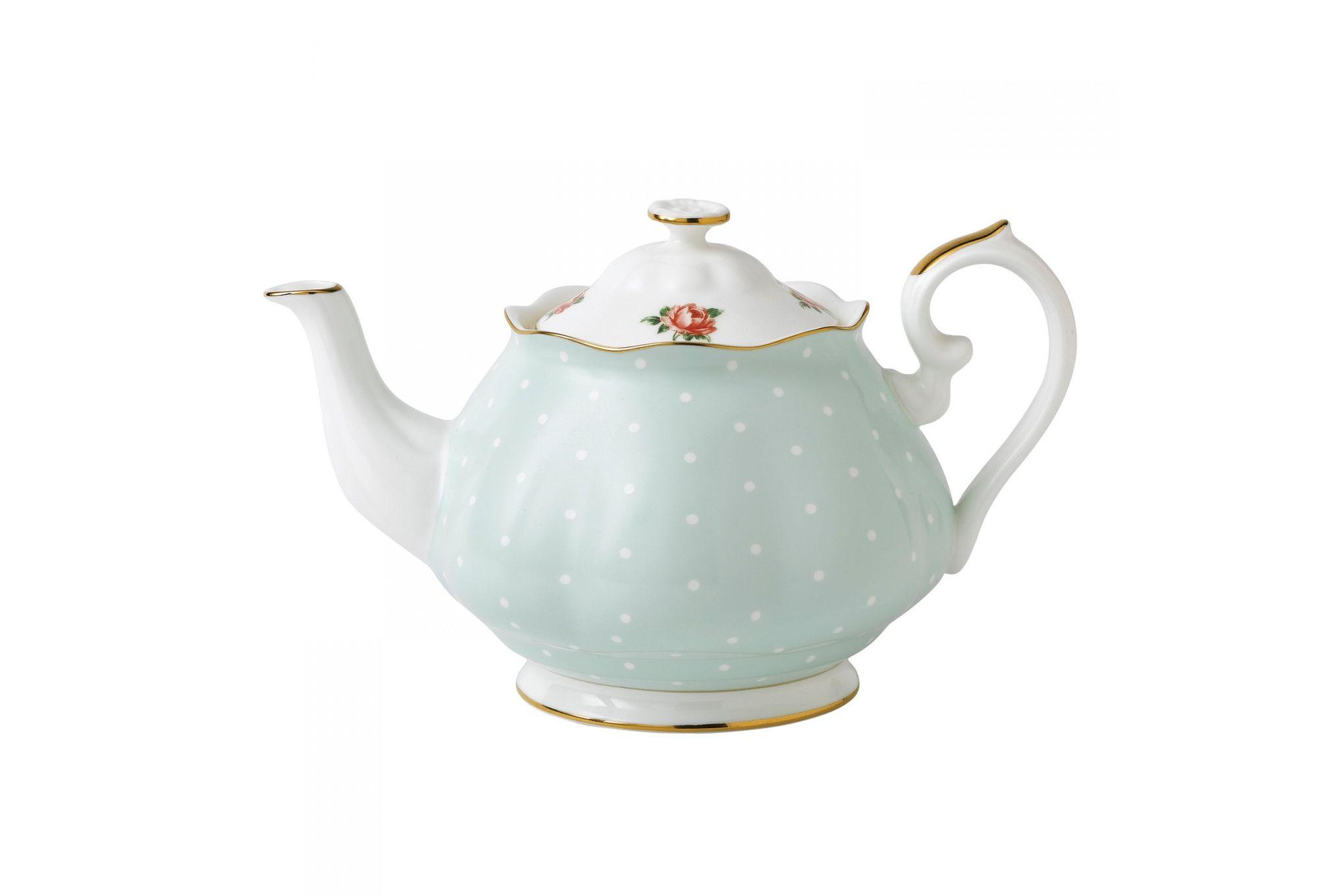 Royal Albert Polka Rose Teapot thumb 1