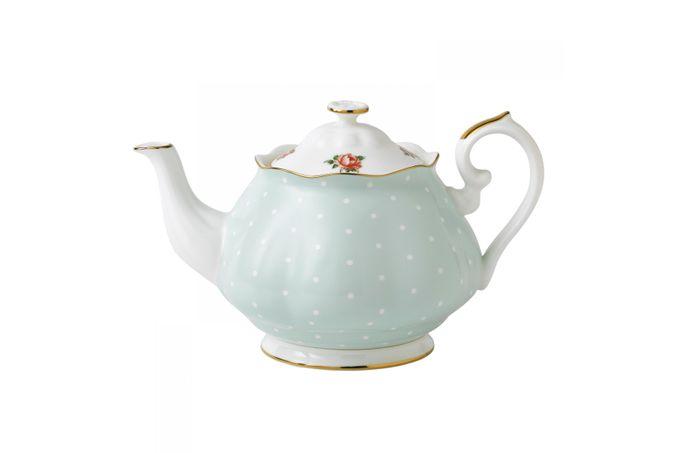 Royal Albert Polka Rose Teapot