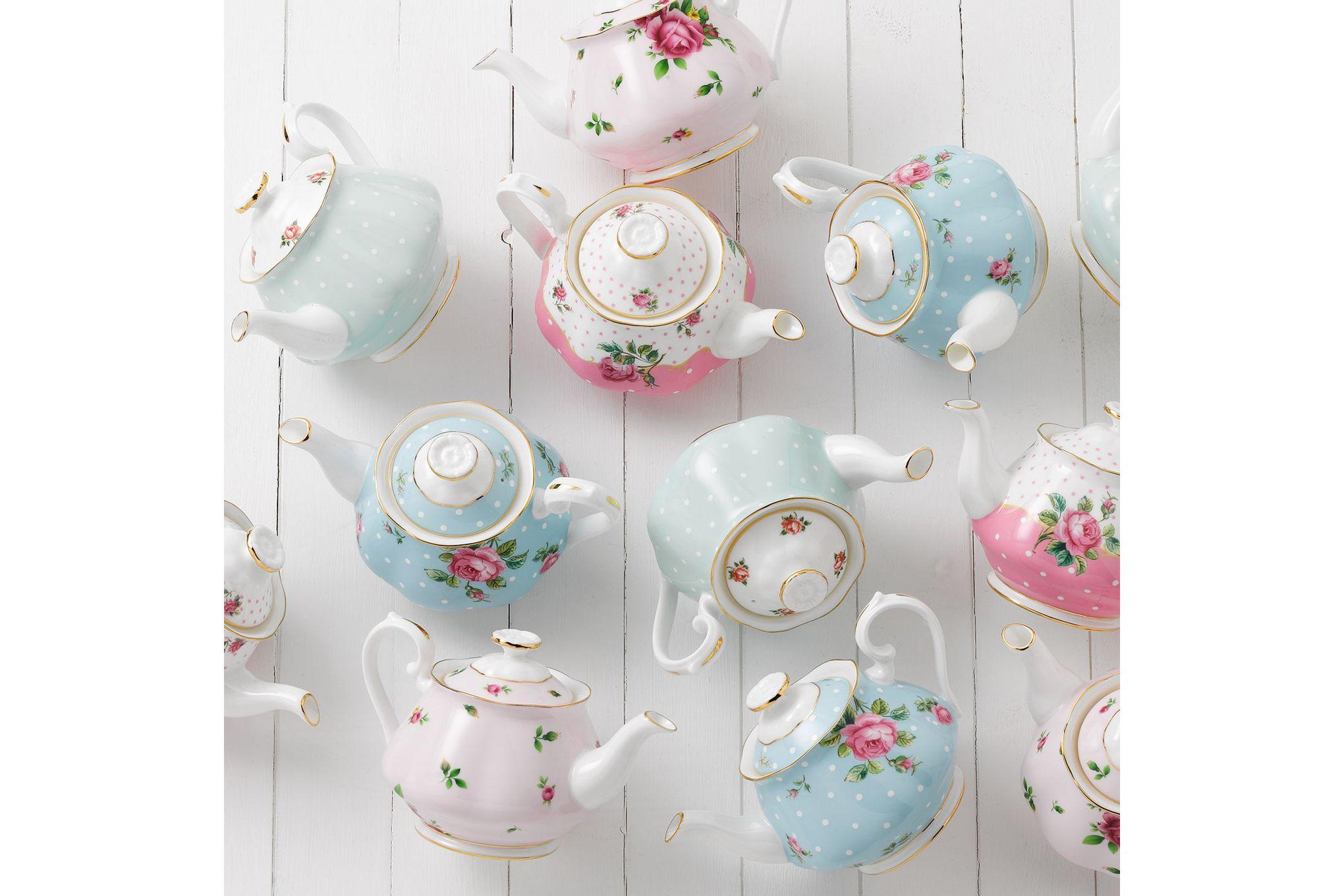 Royal Albert Polka Rose Teapot thumb 3