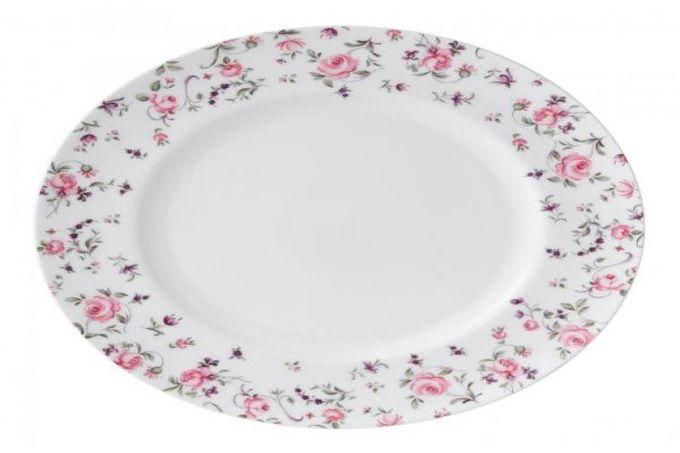 Royal Albert Rose Confetti Dinner Plate Modern 27cm