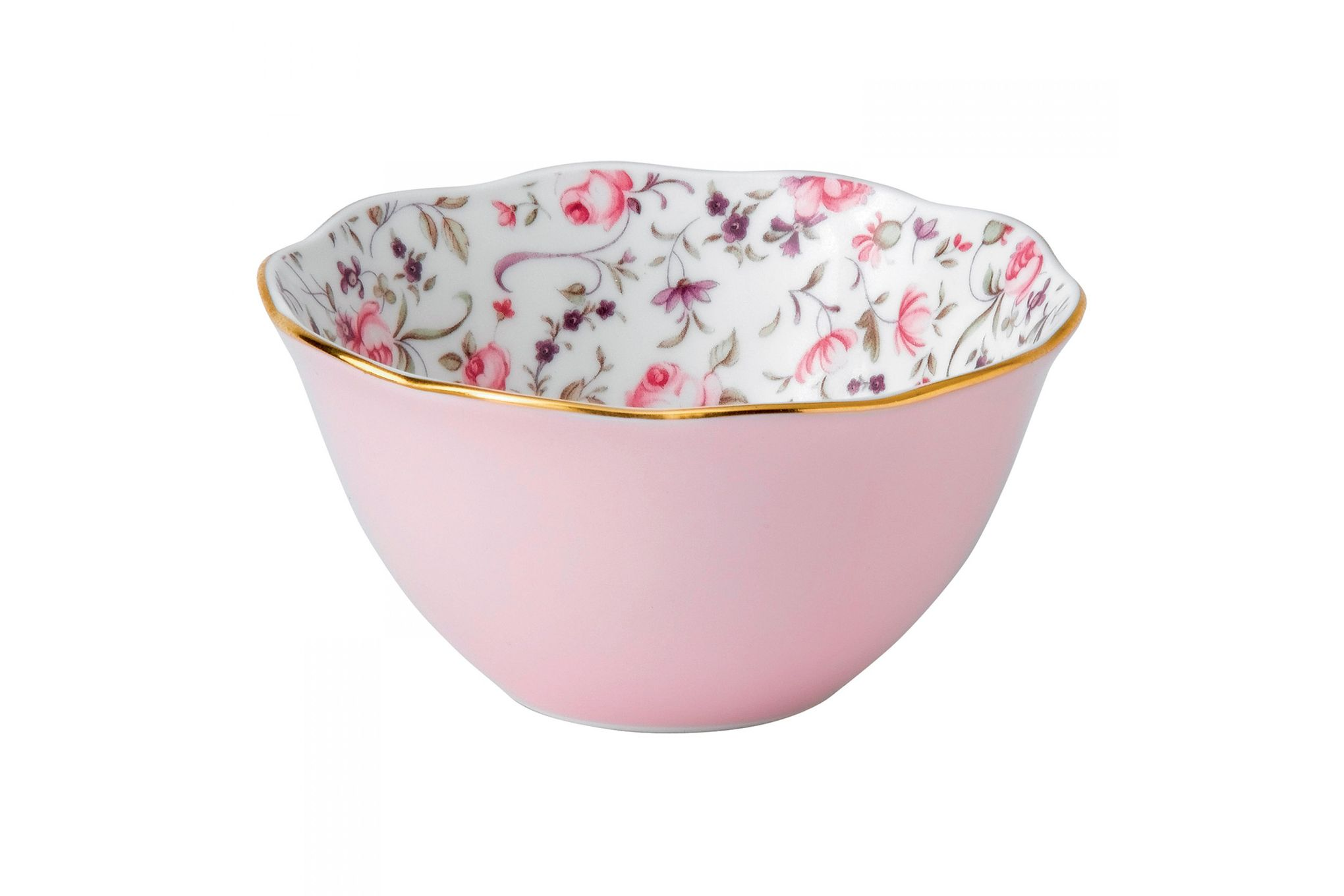 Royal Albert Rose Confetti Bowl Ice Cream Bowl thumb 1