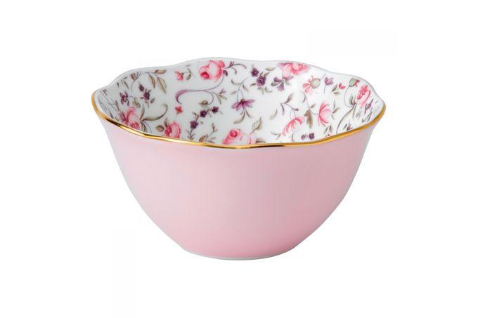 Royal Albert Rose Confetti Bowl Ice Cream Bowl