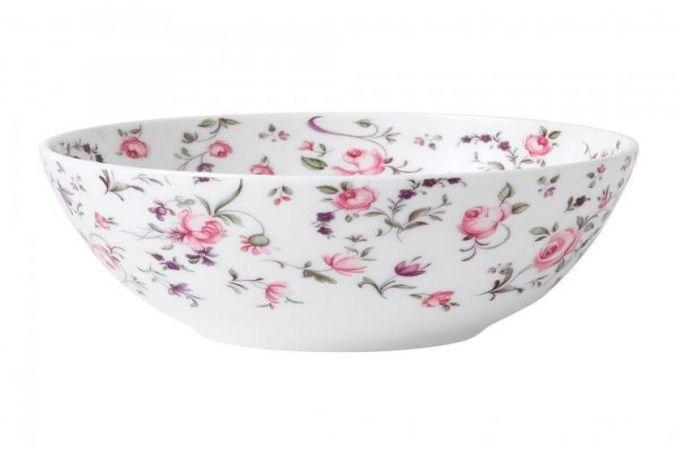 Royal Albert Rose Confetti Soup / Cereal Bowl Modern 15cm