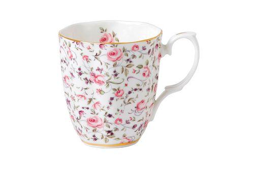 Royal Albert Rose Confetti Mug