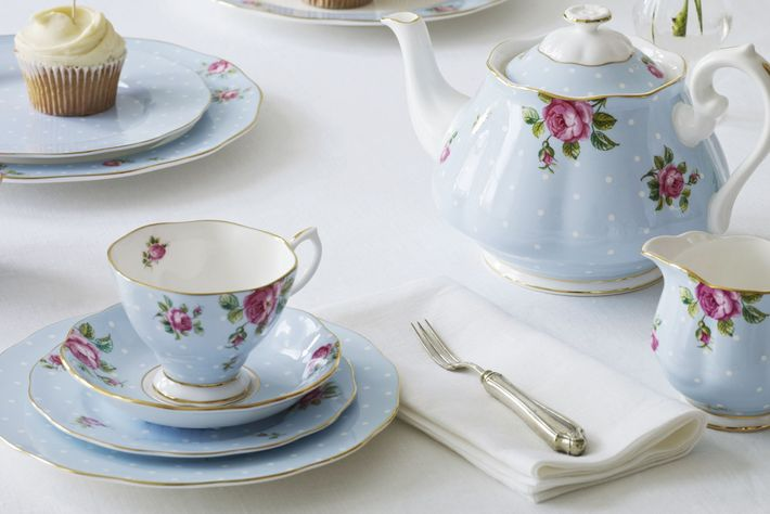 Royal Albert Polka Blue