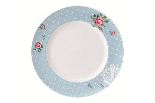 Royal Albert Polka Blue Dinner Plate Modern