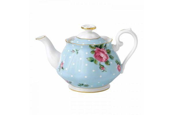Royal Albert Polka Blue Teapot