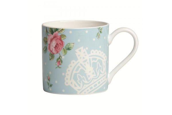 Royal Albert Polka Blue Mug Modern