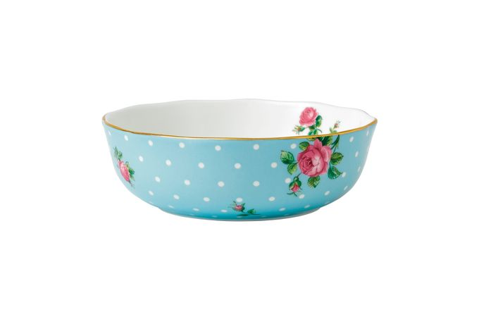 Royal Albert Polka Blue Bowl 13.5cm
