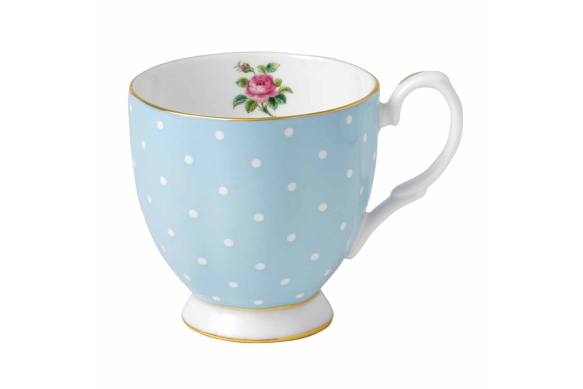 Royal Albert Polka Blue Mug Footed 0.3l thumb 1