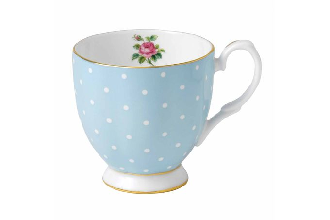Royal Albert Polka Blue Mug Footed 0.3l
