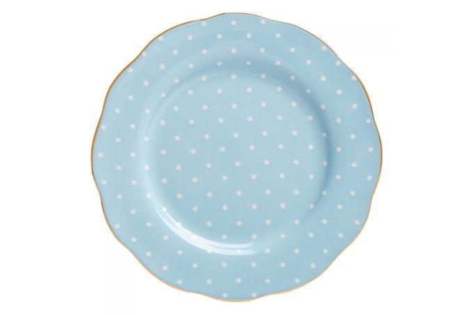 Royal Albert Polka Blue Side Plate 20cm