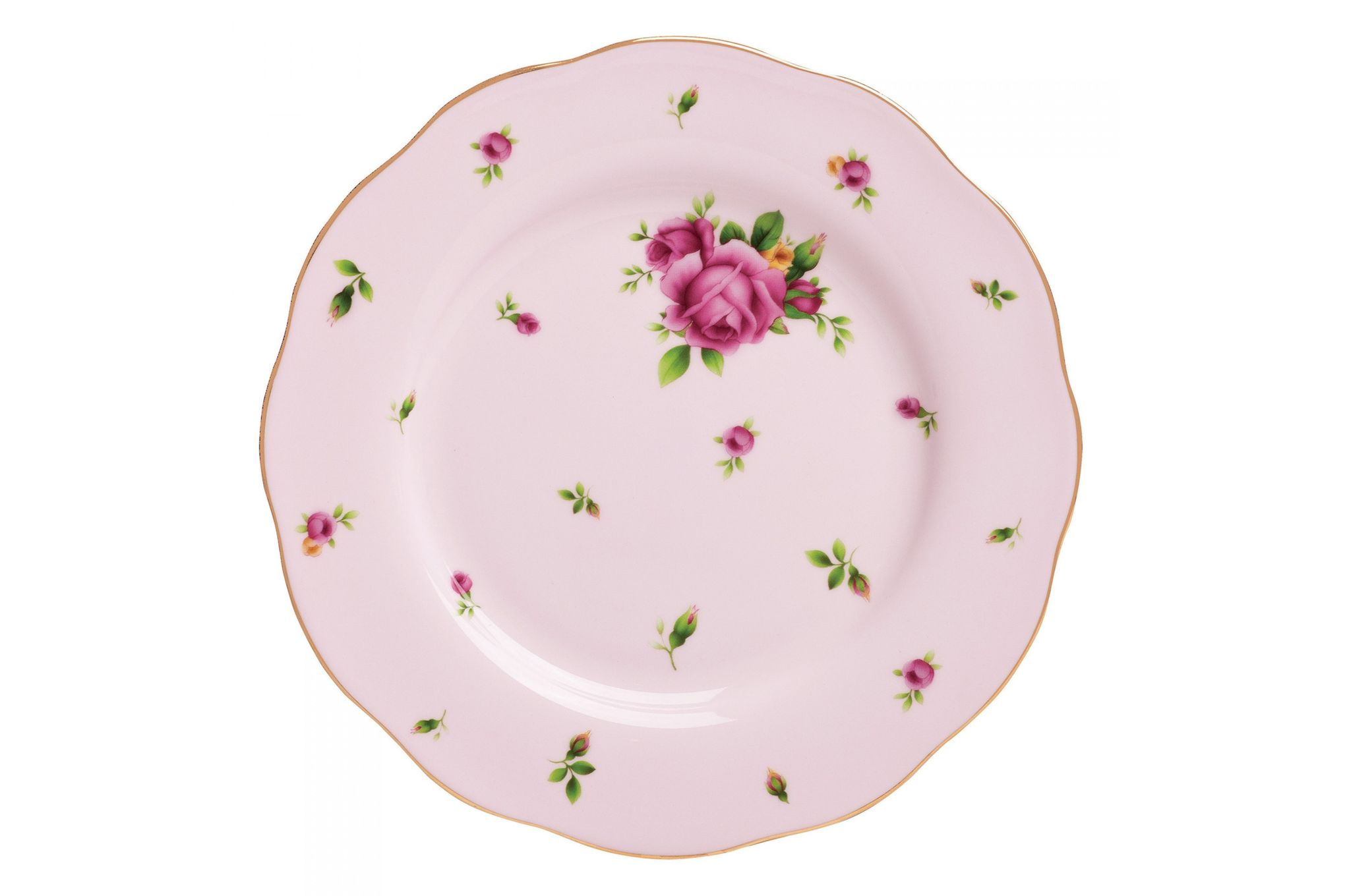 Royal Albert New Country Roses Pink Side Plate 20cm thumb 1