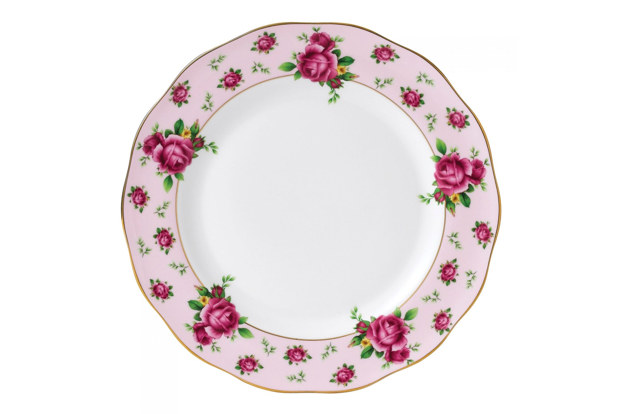 Royal Albert New Country Roses Pink Dinner Plate 27cm thumb 1