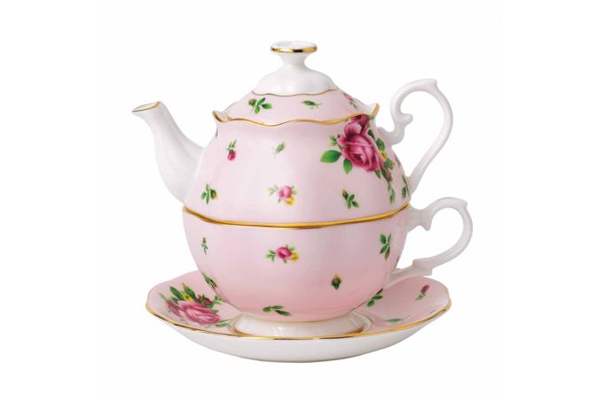 Royal Albert New Country Roses Pink Tea For One 0.49l