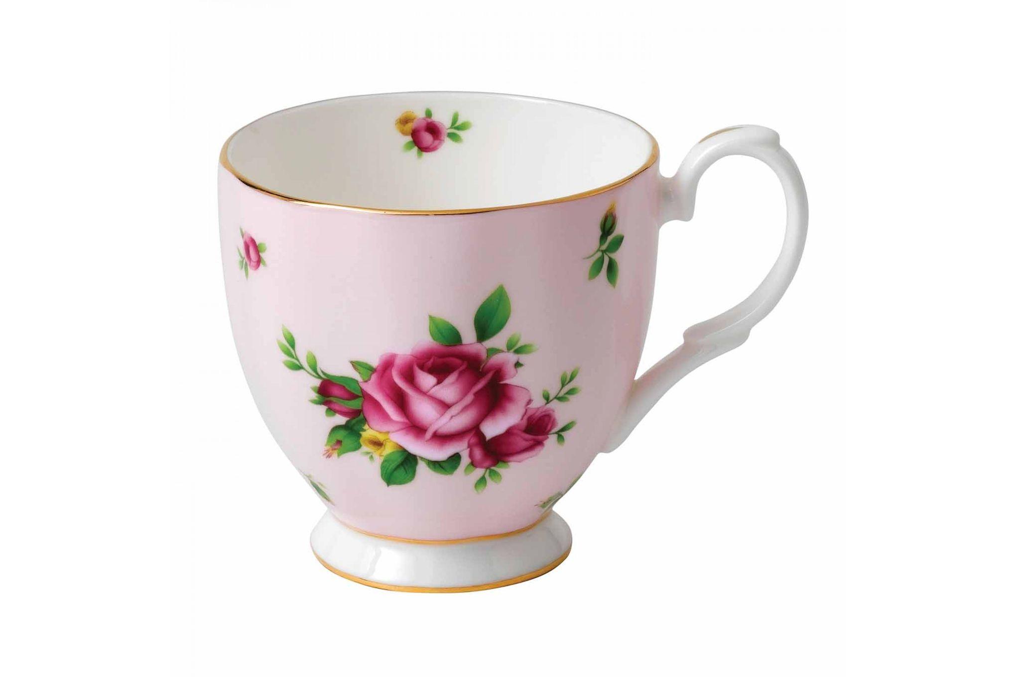 Royal Albert New Country Roses Pink Mug Footed 0.3l thumb 1